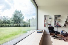 JUMA architects - Fly house  great spot for a eames lounge chair by vitra!