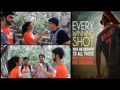 Disha Patani Reacts on KAUN TUJHE   M.S. DHONI -THE UNTOLD STORY - YouTube