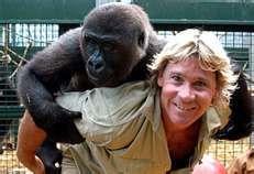 Steve Irwin. I really miss him.
