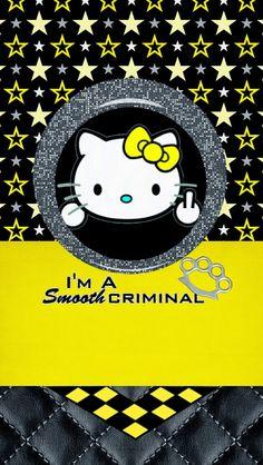 Dazzle My Droid Smooth Criminal Wallpaper Collectiono Kitteno Kitty Art Sanrio