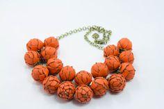 silver orange by Agnieszka Domagala on Etsy