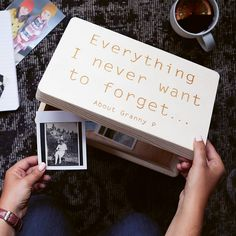 Are you interested in our personalised memorial keepsake box? With our grandma memory box you need look no further.