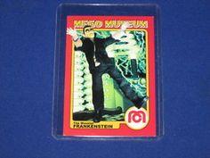 Frankenstein Trading Cards   Details about THE MONSTER FRANKENSTEIN HORROR WGSH MEGO MUSEUM PROMO ...