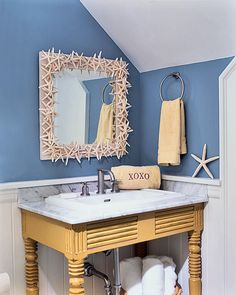 @ Dana chancellor - this would great in your bathroom.  67 Cool Blue Bathroom Design Ideas