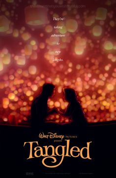 """""""A poster for Tangled that I created in the classic style of the great John Alvin."""" <--- Brilliant."""