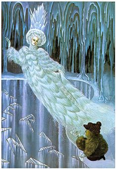 Snow Queen - Errol Le Cain