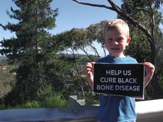 This cute little chap is called Nate. He's a four-year old AKU patient in Australia, and he's joined the cause to #HelpCureAKU.