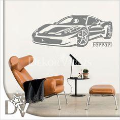 #ferrari #falmatrica #dekor #ajándékötlet #férfiaknak Ferrari, Eames, Lounge, Chair, Furniture, Home Decor, Airport Lounge, Decoration Home, Room Decor