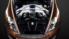2014 Aston Martin Vanquish Engine  Heart of the beauty.