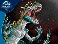 Jurassic Park Poster, Jurassic Park Series, Jurassic World Hybrid, Jurassic Park World, Indominus Rex, Jurassic World Dinosaurs, Falling Kingdoms, Spinosaurus, Dinosaur Art