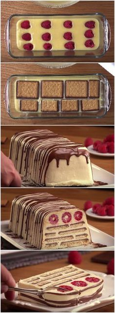 Iced cookie pie, the best pie in the universe! (see recipe step by step … – pastry types Sweet Recipes, Cake Recipes, Dessert Recipes, Kolaci I Torte, Torte Cake, Best Pie, Iftar, No Bake Cake, Easy Desserts