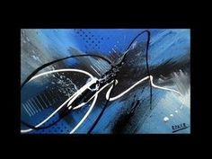 Abstract Acrylic Painting / Speed Painting / Art / Vital by Roxer Vidal - YouTube