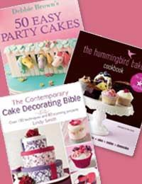 Recommended Cake Baking and Decorating Books - with a short discription and review. Fab!