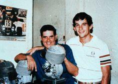 Ayrton Senna: O Globo: Tche, o Pai de Senna Dentro da Oficina 01...