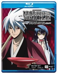 Nura: Rise of the Yokai Clan: Demon Capital Blu-ray Set 1 (Hyb)