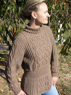 Kilronan Sweater by Alice Starmore.  From her book The Celtic Collection.