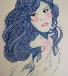 Ilustration by MercedesdeBellard on DeviantArt