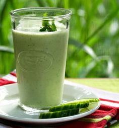 Cucumber Smoothie ~ 15 Easy and Delicious Fat Burning Smoothies