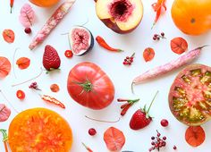 Julie's Kitchen food collage prints