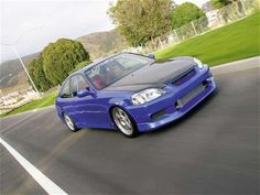 #Blue 2000 Civic Si CoupeTurbo