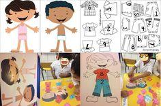 Viste a los niños con los amigos del 10 para practicar el conteo | Material Educativo Kindergarten, Family Guy, Math, Fictional Characters, Templates, Learning Activities, Teaching Resources, 1st Grades, Calculus