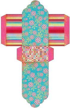 Готовые шаблоны коробочек / Поделки из бумаги / Другие поделки из бумаги и картона