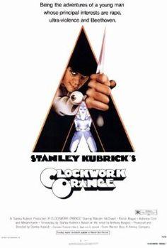 Clockwork Orange (1971) -  I love this crazy movie!