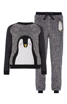 Primark - Pijama polar fantasia de pinguim