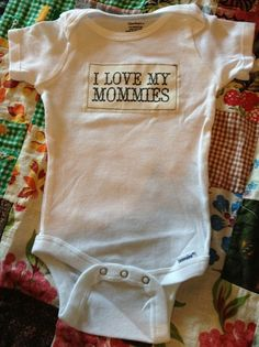 15 Awesome Baby Onesies for Kids of LGBT Parents