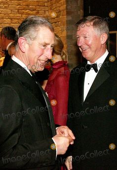 A19977 No Uk Rights Until  12-15-2006 Picture must be credited Alpha/Globe Photos Inc 063686  11-15-2006 Prince Charles The Prince of Wales speaks to Sir Alex Ferguson at the Gala evening to celebrate the work of The Princes Trust held at the Roundhouse in Camden, north London.  The Trust, founded by Charles, is celebrating its 30th anniversary this year and this is the latest in a number of events to mark the special milestone.