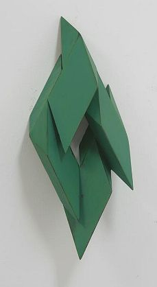 Peter Millett / Opening / painted wood / 32 x 11 x 8 inches