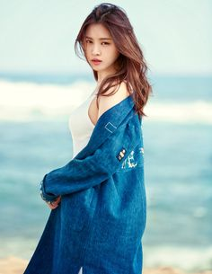 A Pink Na Eun - Elle Magazine March Issue '16 - Korean Magazine Lovers