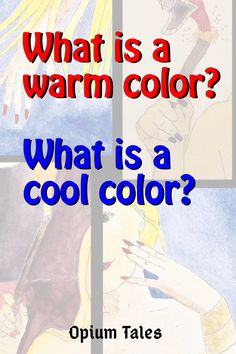 Some color theory basics. Do you know the difference between warm colors and cool colors? Why do they call them that? We'll explain, and make it so simple that you can explain it to a Painting Lessons, Painting For Kids, What Are Cool Colors, Psychology Experiments, Color Meanings, Color Psychology, 5 Year Olds, Sales And Marketing, Teaching Tools
