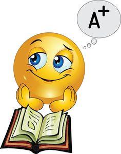 Studying smiley