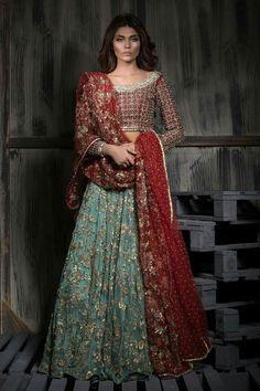 Mahgul , model aman babar Pakistan bridal Dress #beautiful #pakistani #desi…