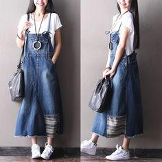 Cowboy long dress for women summer clothes