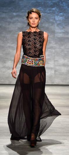 NY: Dorin Negrau - Runway - Mercedes-Benz Fashion Week Spring 2015