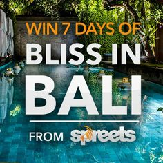 Win two tickets to paradise with Spreets