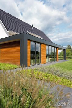 Roscobouw, in harmonie - Eigenhuisbouwen. House Floor Plans, Gazebo, Outdoor Structures, Flooring, Outdoor Decor, Home Decor, Future, Homes, Modern Houses