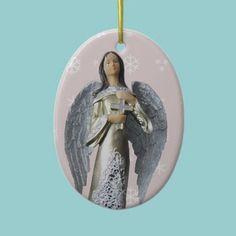 Silver Angel ornament.  $15.85