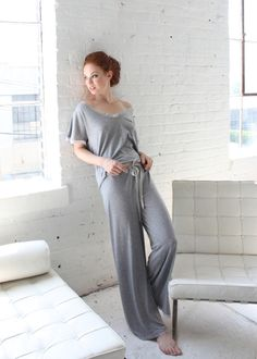 Between the Sheets. Comfy loungewear.