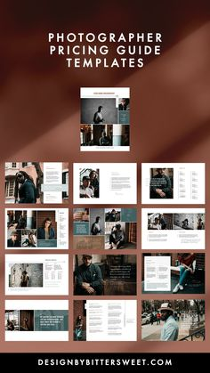 Create a welcome magazine that stands out from the crowd. Our customizable templates give you complete control of your branding and marketing materials. Photography Templates, Photography Pricing, Photography Marketing, Photography Business, Photographer Branding, Magazine Template, Photoshop, Branding Ideas, Marketing Materials