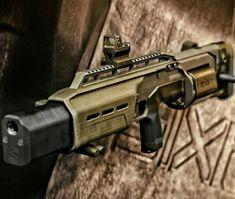 "Crye Precision ""SIX12"" Revolving Bullpup Shotgun"