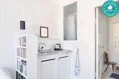 Une minuscule cuisine dans un tout petit studio !