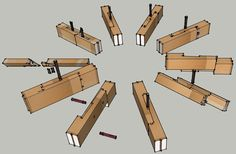 chinese timber frame architecture | Update: Japanese Joinery Workshops