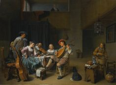 "HENDRICK MAERTENSZ. SORGH ( Rotterdam 1609/1611 - 1670). A MUSICAL COMPANY IN AN INTERIOR. 1661. oil on canvas. 68 × 82 cm. Signed and dated: "" HM Sorgh/ 1661 "" lower right. Sotheby's. New York. Old Masters. 27/01/2016. Lot 26. Estimate : 800.000/ 1.200.000 $. Price realized: 610.000 $."
