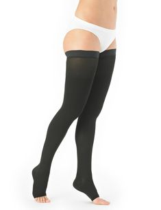 d1d74cc0fe Neo G Medical Grade Compression Hosiery Open Toe Thigh High Stockings class  in Hot & Cold Therapy.