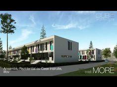 Ansamblu Rezidential cu Case Insiruite, IF Mansions, Interior Design, Architecture, House Styles, Cube, Videos, Youtube, Home Decor, Modern