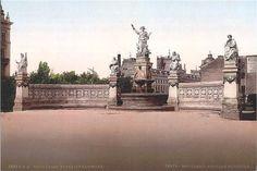 """Old Bucharest """"Little Paris"""" part 2 – Romania Dacia Little Paris, Bucharest Romania, Click Photo, Old City, Vintage Postcards, Time Travel, Big Ben, Paris Skyline, Fountain"""
