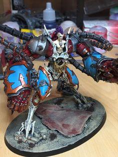Chaos, Daemon Engine, Daemonettes, Daemons, Helbrute